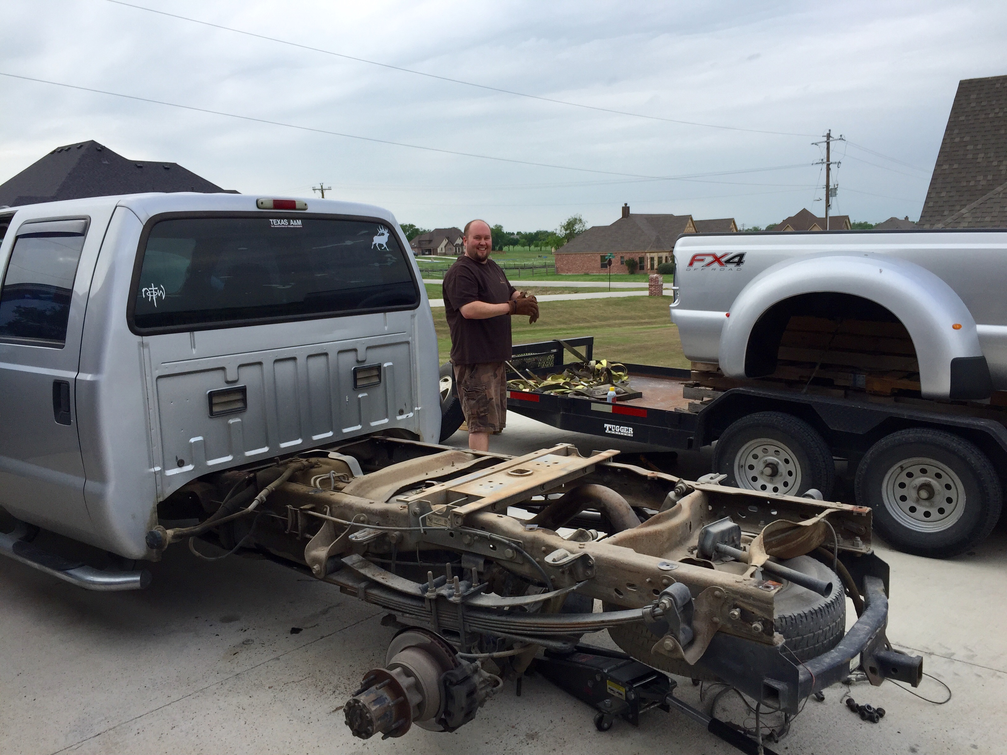 Ford Bed Swap