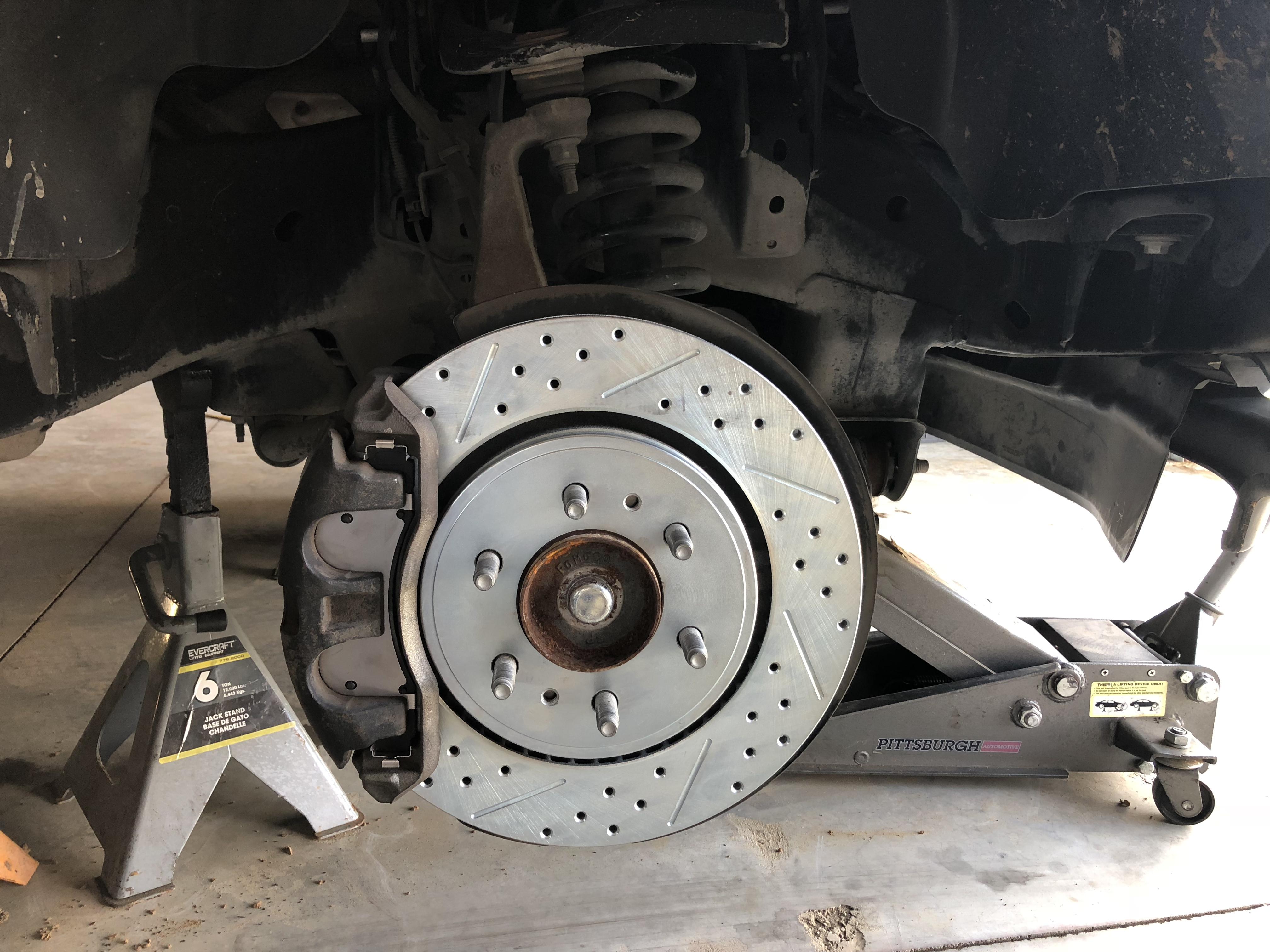 performance brake upgrade off road